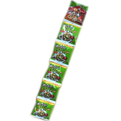 OkinawaBeans ゴーヤーチャンプルー味 16g×5袋 豆菓子 2個までメール便可 y-sansei-shop