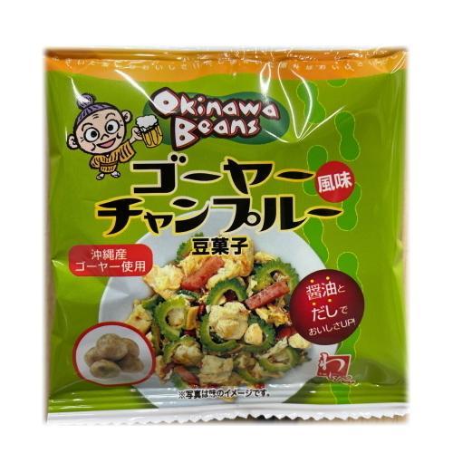 OkinawaBeans ゴーヤーチャンプルー味 16g×5袋 豆菓子 2個までメール便可 y-sansei-shop 02