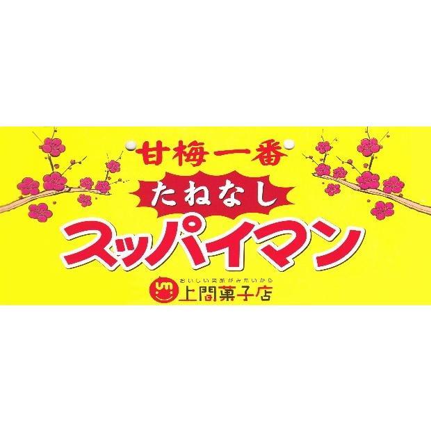 スッパイマンの甘梅一番 たねなし17g 6個までメール便可|y-sansei-shop|02