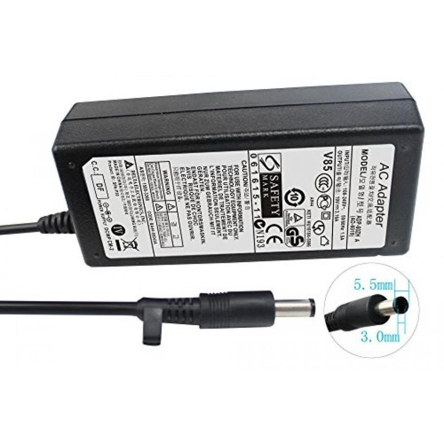 コンピュータ ノートパソコン アクセサリー アダプター Gomarty 19V 3.15A AC Adapter for Samsung AD-6019 AP04214-UV ADP-60ZH A BA44-00238A BA44-00242A|y-select-31