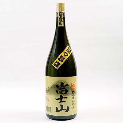 富士吉田市 ふるさと納税 富士山焼酎麦 益々繁盛ボトル(4.5L)