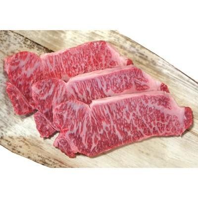 高島市 ふるさと納税 近江牛厚切りロースステーキ600g(3枚)