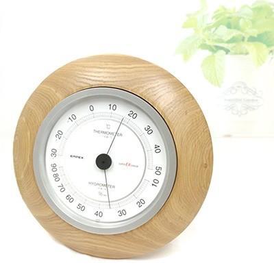 旭川市 ふるさと納税 置き掛け両用 温湿度計 EX