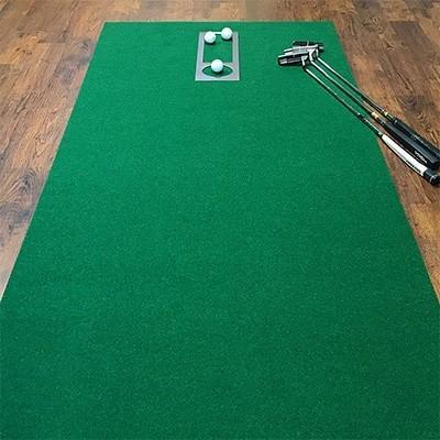 芸西村 ふるさと納税 ゴルフ練習パターマット高速90cm×10m TOURNAMENT-SB(トーナメントSB)と練習用具