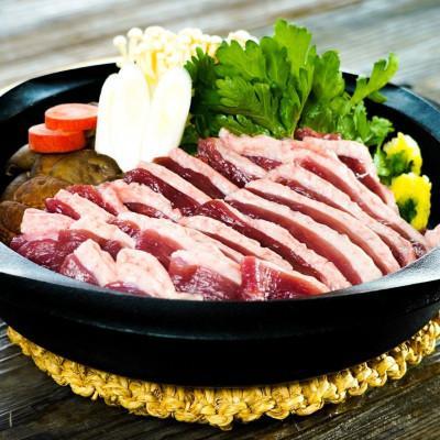 枚方市 ふるさと納税 鴨鍋4人前·鴨肉ブロック ロース肉·もも肉セット