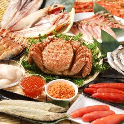 釧路市 ふるさと納税 かに三昧 魚卵·干物·魚介·豪華セットE[Ka405-H006]