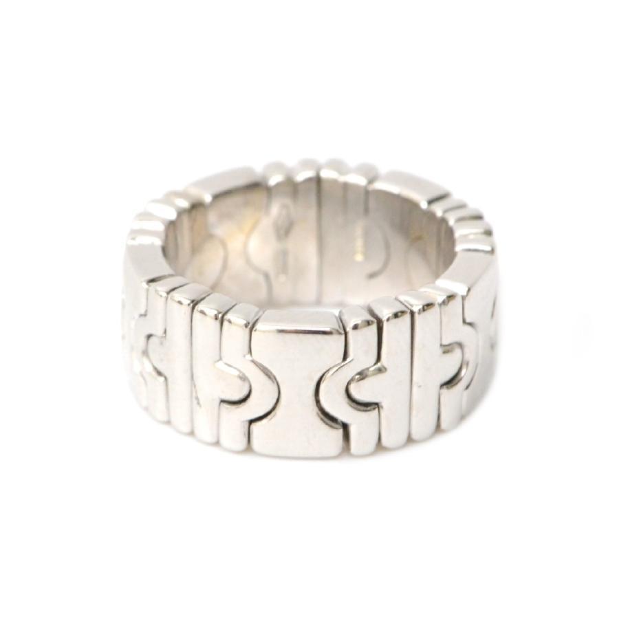 アンマーショップ 本物 BVLGARI ブルガリ パレンテシ 750 K18 WG リング 指輪 8号 ホワイトゴールド レディース 美品, インポートアパレル専門店iDIRECT 58d09baa