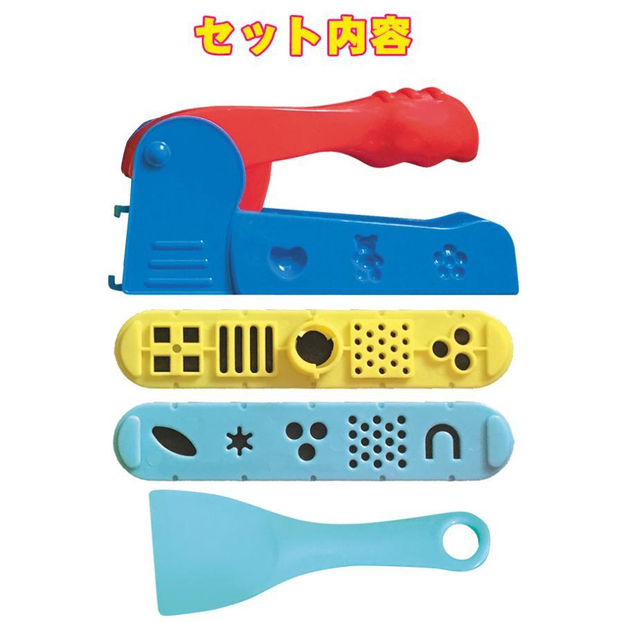 ねんど 道具 セット 押し出し器セット y-silverback 02