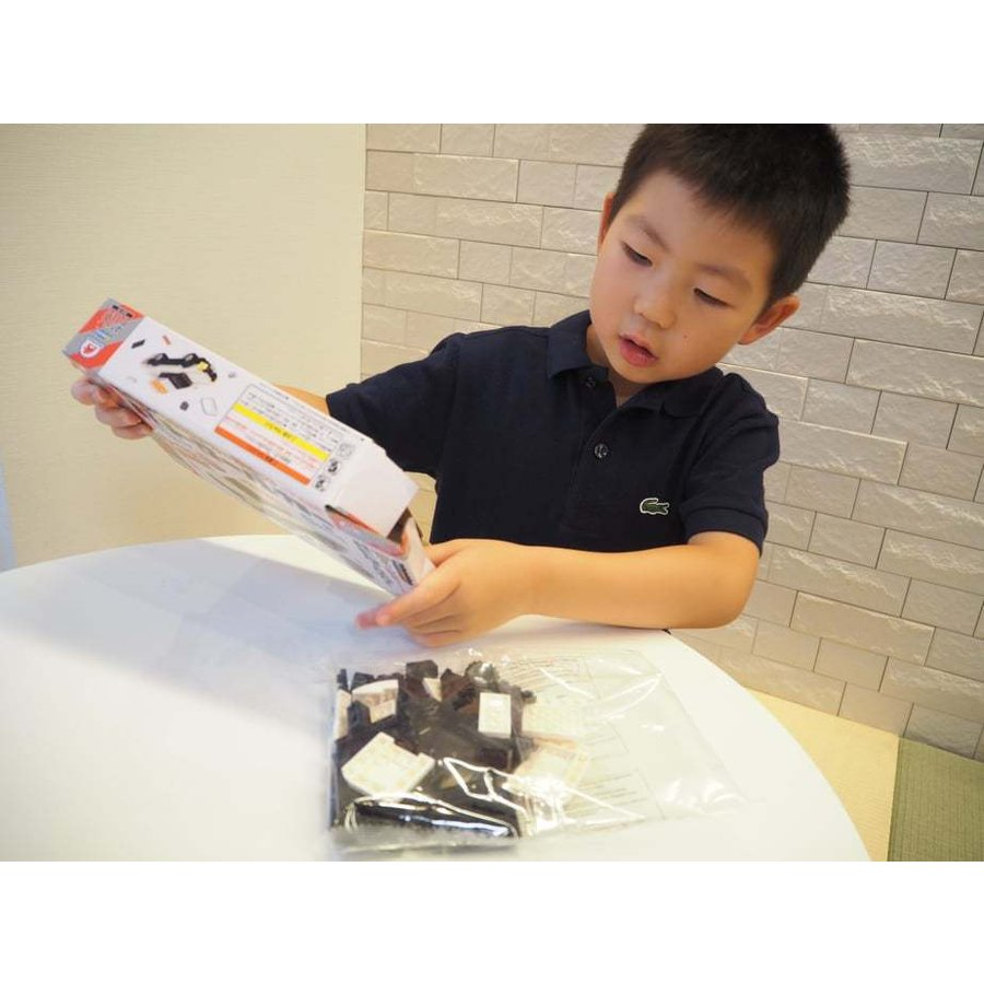 ブロックでつくる!パトロールカー 117パーツ 知育玩具 ブロック おもちゃ 知育 玩具 子供 未就学 幼児 男の子 女の子 6歳以上|y-silverback|07