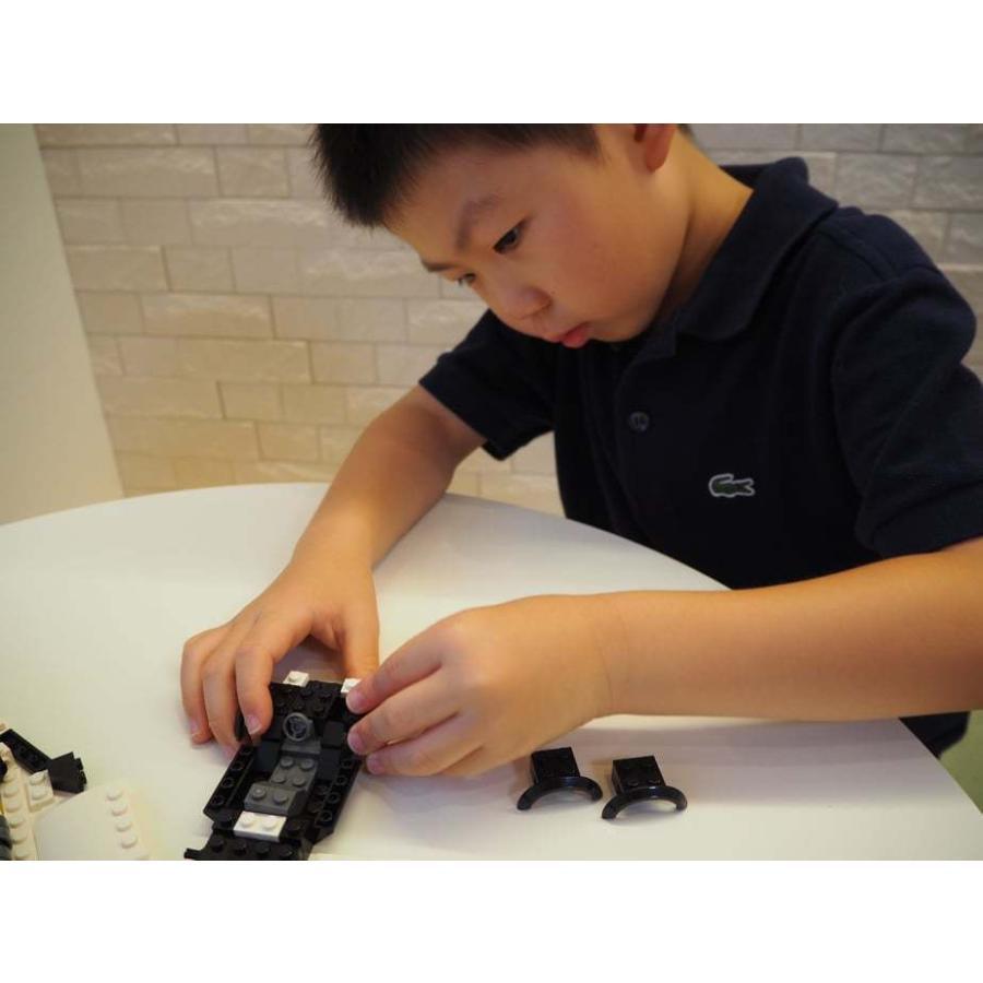 ブロックでつくる!パトロールカー 117パーツ 知育玩具 ブロック おもちゃ 知育 玩具 子供 未就学 幼児 男の子 女の子 6歳以上|y-silverback|08