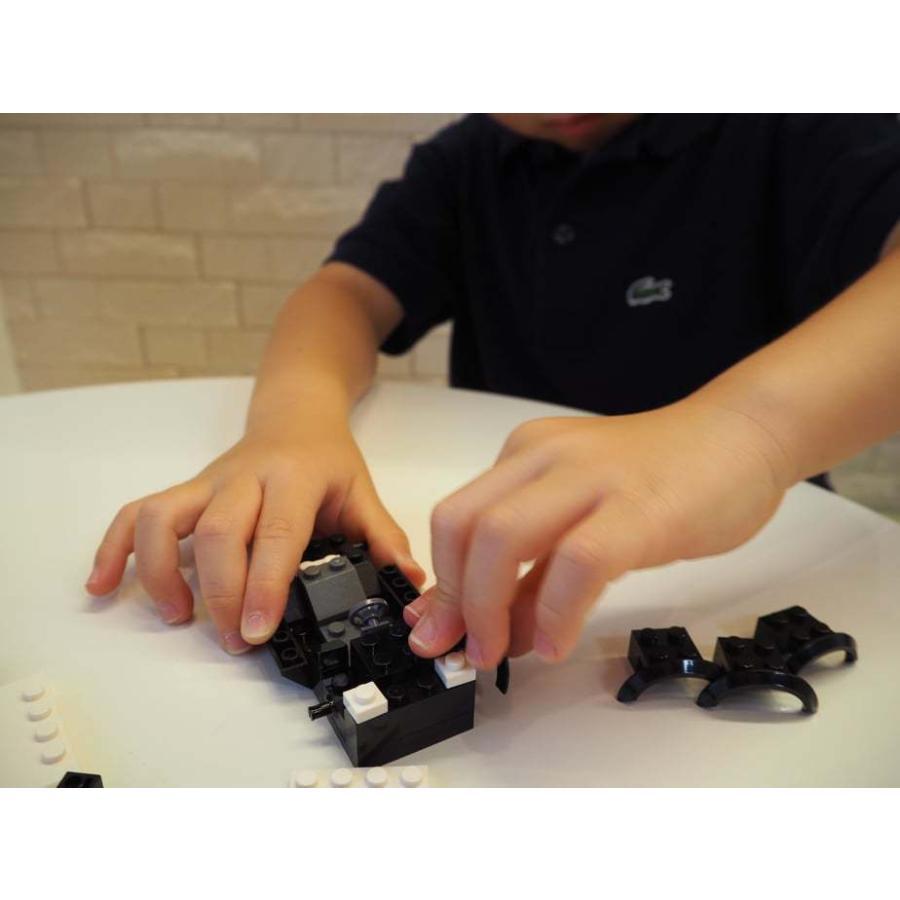 ブロックでつくる!パトロールカー 117パーツ 知育玩具 ブロック おもちゃ 知育 玩具 子供 未就学 幼児 男の子 女の子 6歳以上|y-silverback|09