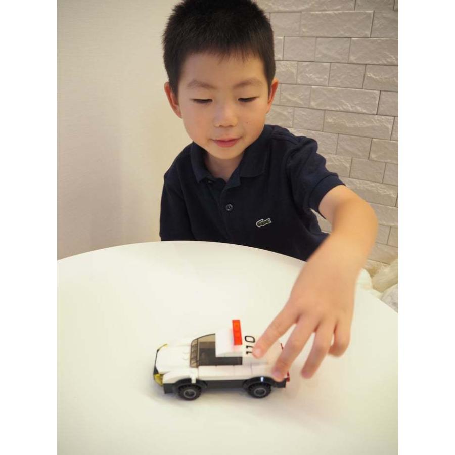 ブロックでつくる!パトロールカー 117パーツ 知育玩具 ブロック おもちゃ 知育 玩具 子供 未就学 幼児 男の子 女の子 6歳以上|y-silverback|10