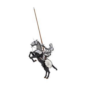 海洋堂 KT027 タケヤ式自在置物 15世紀ゴチック式エクエストリアンアーマー シルバー [振込不可]