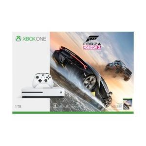 マイクロソフト(Microsoft) Xbox One S (エックスボックスワン エス) 1TB (Forza Horizon 3 同梱版) [ゲーム機本体] [234-00120]