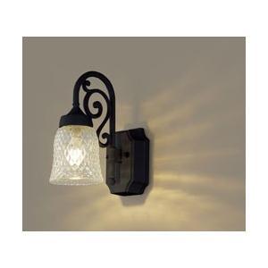 パナソニック(Panasonic) 【要電気工事】【防雨型】壁直付型 LEDポーチライト 40形 LGW85203BK [電球色]