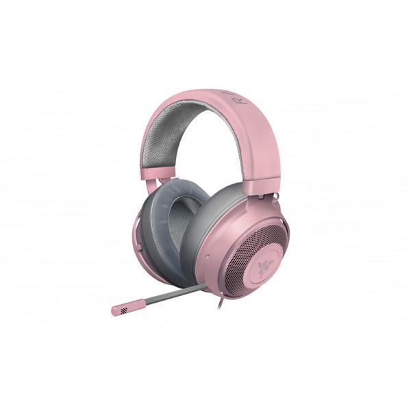 RAZER レイザー 安い 激安 プチプラ 高品質 RZ04-02830300-R3M1 ゲーミングヘッドセット Kraken ヘッドバンドタイプ 両耳 φ3.5mmミニプラグ Pink 送料0円 Quartz