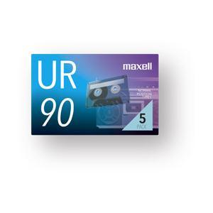 送料0円 maxell オーディオカセットテープ90分5巻パック 卓抜 UR-90N5P