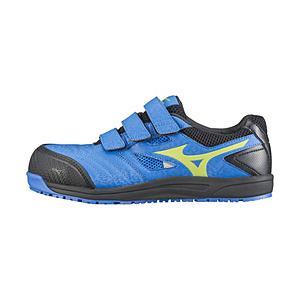 ミズノ メンズ 安全靴 MIZUNO WORKING ミズノ·オールマイティ FF(25.5cm/ブルー×イエロー×ブラック/靴幅:4E)C1GA180127【JSAA·普通作業用(A種)耐滑】