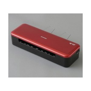 アイリスオーヤマ オンラインショッピング 高速起動ラミネーター A4サイズ レッド 激安格安割引情報満載 HSL-A44-R
