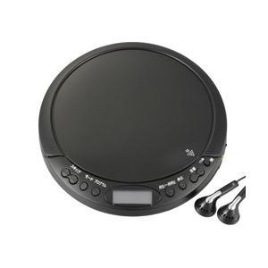 オーム電機 ポータブルCDプレーヤー 人気の製品 BC-CP03-BK ブラック タイムセール
