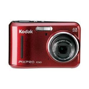 Kodak コダック FZ43 コンパクトデジタルカメラ PIXPRO 価格 安い 交渉 送料無料 レッド 振込不可