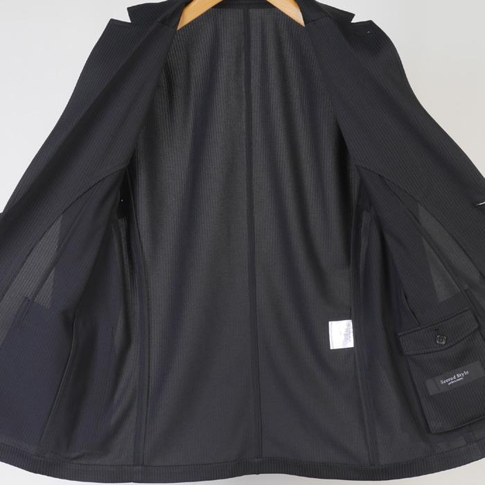 S M L LL ウルトラストレッチ 超軽量 清涼 カジュアルスーツ スーツ ノータック テレワーク クールビズ 12000 wRS9077|y-souko|14