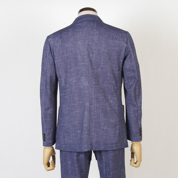 S M L LL ウルトラストレッチ 超軽量 清涼 カジュアルスーツ スーツ ノータック テレワーク クールビズ 12000 wRS9077|y-souko|04