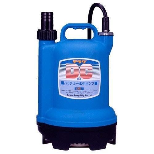 ポンプ 水中ポンプ バッテリー 24V テラダ 寺田ポンプ S24D-100 海水 清水いけす 生簀 汚水用ポンプ 小型ポンプ S24D100