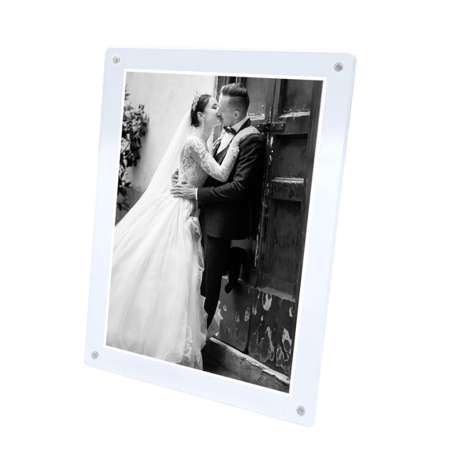 マグパチ フォトフレーム スタンダード A4判 サイズ 結婚祝い 写真立て 壁掛け 名入れ A4 2L A3 フォトスタンド y-trytec