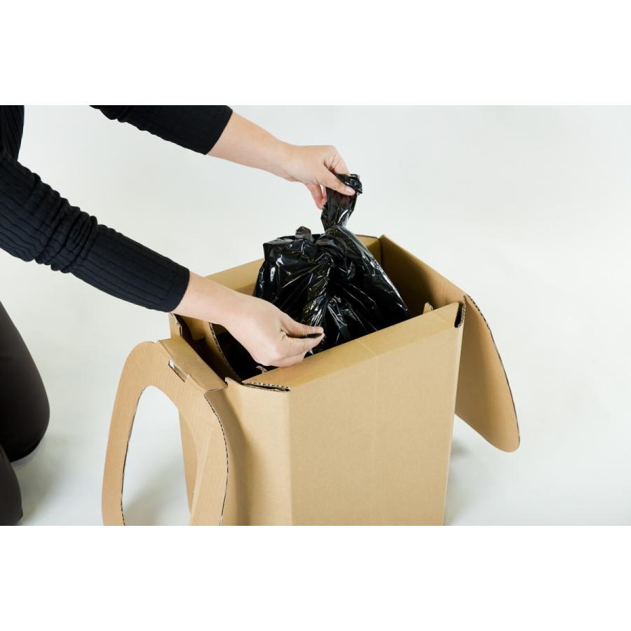 【1個】おしりにやさしい簡易トイレ 非常用ダンボール製組立式トイレ(5回分) yabai0132 10