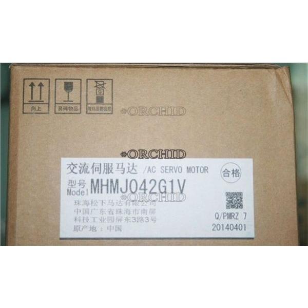 ac servo motor panasonic mhmj042g1v 400w industry automation industr h5 パナソニック