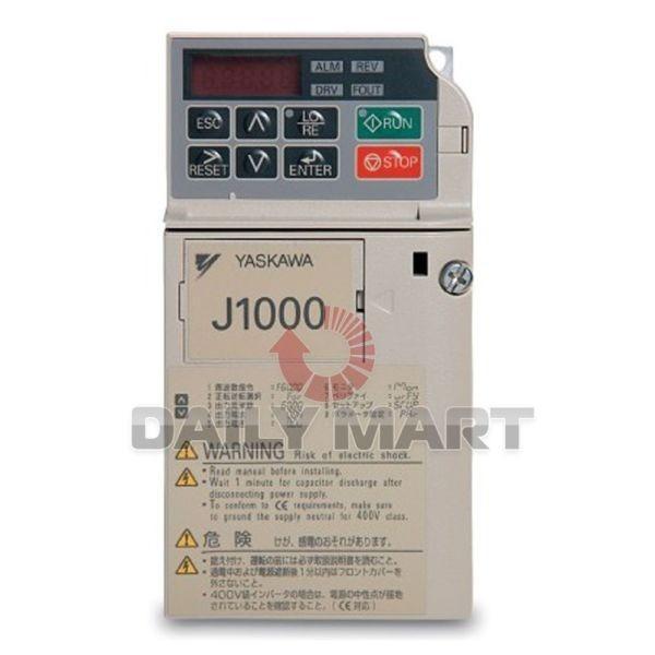 YASKAWA INVERTERS FREQUENCY J1000 CIMR-JB4A0004BAA PLC (AA0) 380V 0.75KW