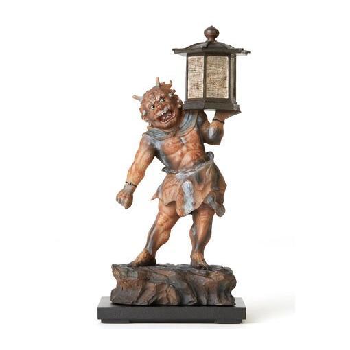 送料無料 TanaCOCORO[掌] 天燈鬼 20センチサイズに凝縮された本物志向のクオリティ 飾れる仏像〈イSム〉(いすむ)(MORITA) tc3507