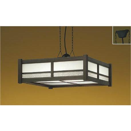 和室 照明 和風ペンダント 〜8畳 木製 LED 調色 AP47448L yagyu-denzai