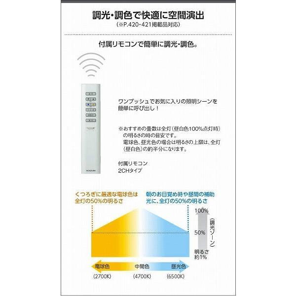 和室 照明 和風ペンダント 〜8畳 木製 LED 調色 AP47448L yagyu-denzai 07