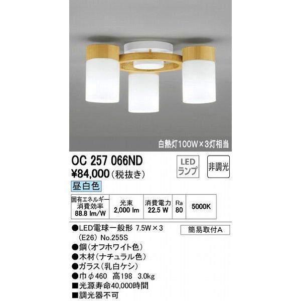 OC257066ND オーデリック 小型シャンデリア LED(昼白色) LED(昼白色)