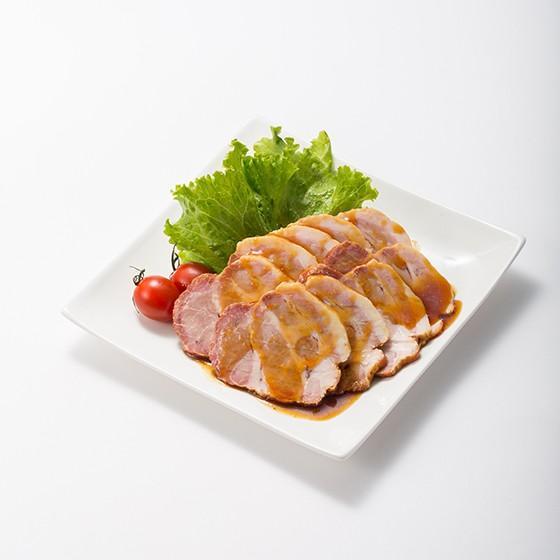 焼豚 こだわりの焼豚スライスパック 1パック yakibuta-nakade 02