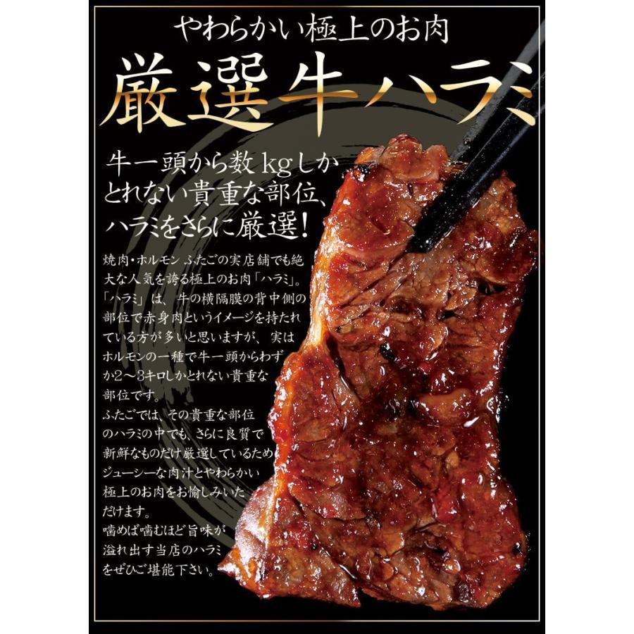 セール【送料無料】ふたごの厳選牛ハラミ メガ盛り1kg yakiniku-futago 03