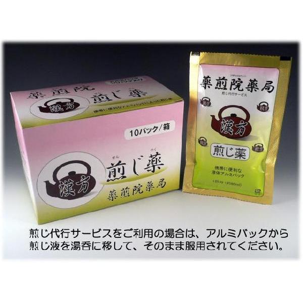まおうとう 麻黄湯    レトルトパック入り煎じ薬 医薬品第2類|yakusen-in|03