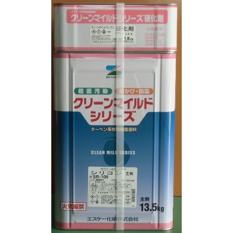 クリーンマイルドシリコン 日塗工色 19−75L 15Kgセット