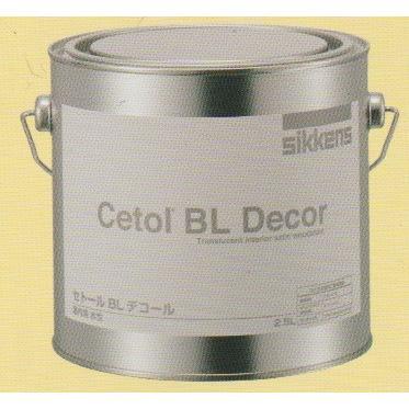 セトールBLデコール NO.19エボニ- 2.5L