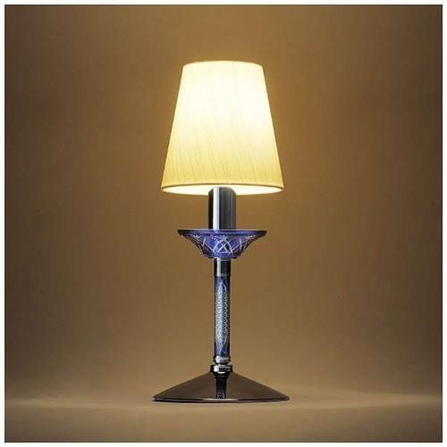オリンピア照明 オリンピア照明 KRI001B 切子スタンドライト 青