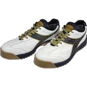 ディアドラ DIADORA 安全作業靴 ピーコック 白/黒 28.0cm