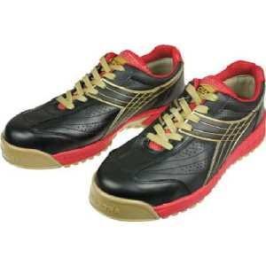 ディアドラ DIADORA 安全作業靴 ピーコック 黒 24.0cm