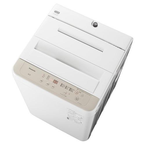 パナソニック NA-F60B14-C 品質検査済 全自動洗濯機 ニュアンスベージュ 洗濯6kg 限定品