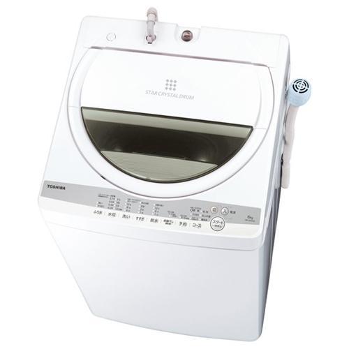 東芝 AW-6G9 W 安心と信頼 お中元 全自動洗濯機 洗濯6kg グランホワイト