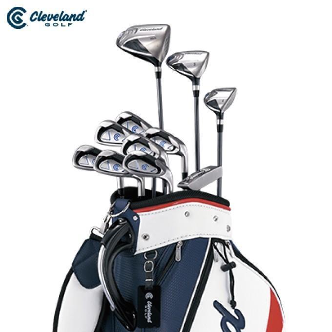 クリーブランド Cleveland ゴルフ セットクラブ メンズ PACKAGE SET パッケージセット キャディバック付