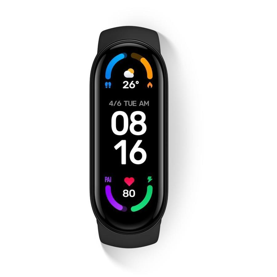 Xiaomi シャオミ Mi Smart Band 最新アイテム Black ブラック 日時指定 6 スマートバンド