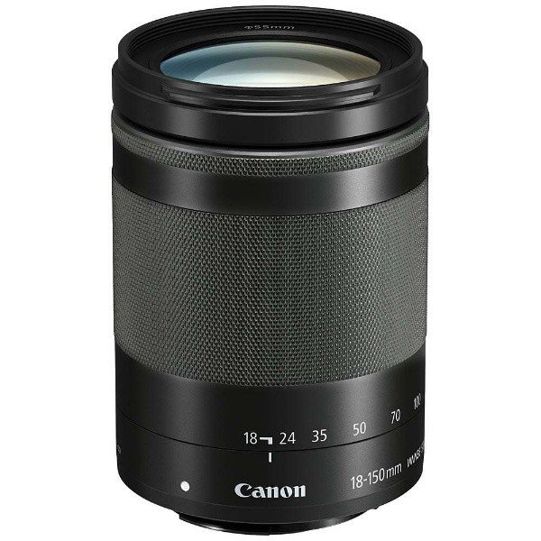 キヤノン 2020 新作 EFM18-150ISSTM 新作販売 交換用レンズ EF-M18-150mm F3.5-6.3 IS STM グラファイト