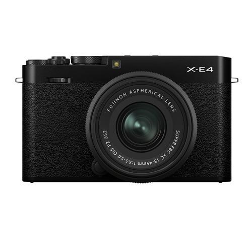 富士フイルム 格安激安 FXE4B ミラーレス一眼カメラ ブラック 売り込み Xシリーズ